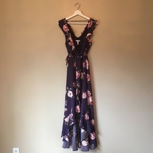 Nordstrom Floral Gown